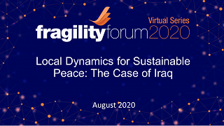 Local Dynamics for Sustainable Peace: The Case of Iraq