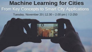 Machine Learning for Smart Cities 1.0