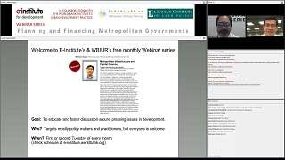 Metropolitan Infrastructure and Capital Finance - Video