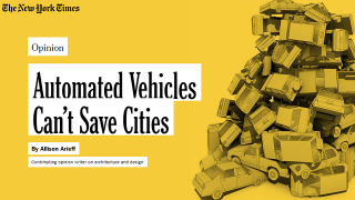 Automated Vehicles Can't Save Cities