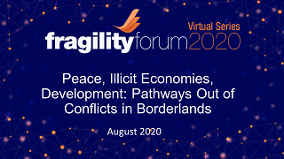 Peace, Illicit Economies, Development: Pathways Out of Conflicts in Borderlands