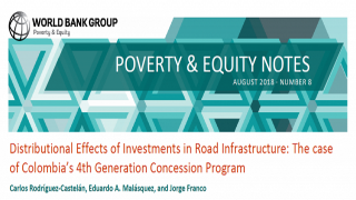 Poverty & Equity Note 8: Distributional Effects of Investments