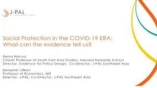 Social Protection in the COVID-19 Era: What can the evidence tell us?