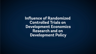 The State of Economics: The Influence of Randomized Controlled Trials on Development Economics Research and on Development Policy