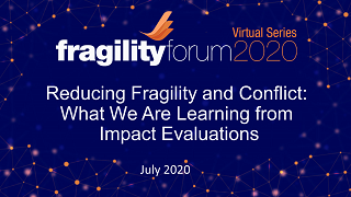 Reducing Fragility and Conflict: What We Are Learning from Impact Evaluations
