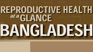 Bangladesh - Reproductive Health at a Glance