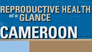 Cameroon - Reproductive Health at a Glance