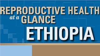 Ethiopia - Reproductive Health at a Glance