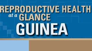 Guinea - Reproductive Health at a Glance