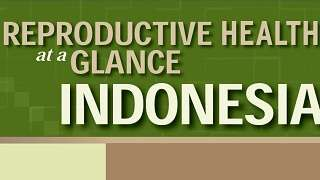 Indonesia - Reproductive Health at a Glance