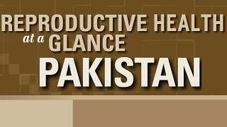 Pakistan - Reproductive Health at a Glance
