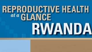 Rwanda - Reproductive Health at a Glance