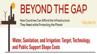 Water, Sanitation, and Irrigation: Target, Technology, and Public Support Shape Costs