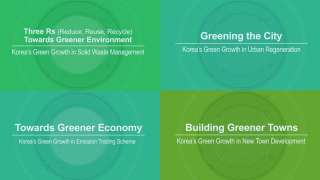 Towards Green Growth: Learning from Republic of Korea's Experience