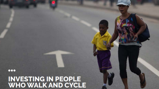 Share the Road Programme: Investing in people who walk and cycle