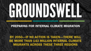 A Snapshot - Groundswell: Preparing for Internal Climate Migration
