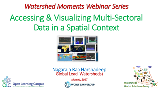 Accessing and Visualizing Multi-Sectoral Data in a Spatial Context