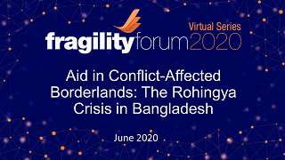 Aid in Conflict-Affected Borderlands: The Rohingya Crisis in Bangladesh