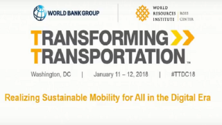 Transforming Transportation 2018: Realizing Sustainable Mobility for All in the Digital Era