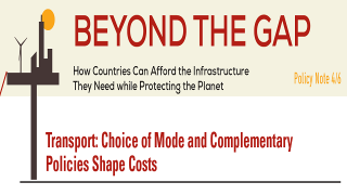 Transport: Choice of Mode and Complementary Policies Shape Costs