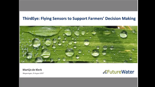 ThirdEye: Flying Sensors to Support Farmers' Decision Making