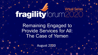 Remaining Engaged to Provide Services for All: The Case of Yemen