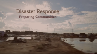 Disaster Response, Preparing Communities