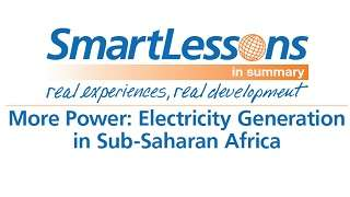 Electricity Generation in Sub-Saharan Africa