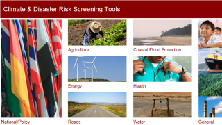 Screening for Climate Change and Disaster Risks in Development Projects
