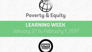 BBL on Poverty GP 101 (POV Learning Week)