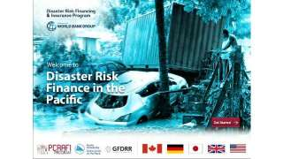 Disaster Risk Finance in the Pacific