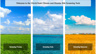 Climate and Disaster Risk Screening – Identifying Risk to Enhance Resilience (Self-Paced)