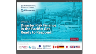 Disaster Risk Finance in the Pacific: Get Ready to Respond!