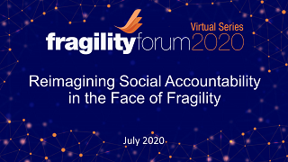Reimagining Social Accountability in the Face of Fragility